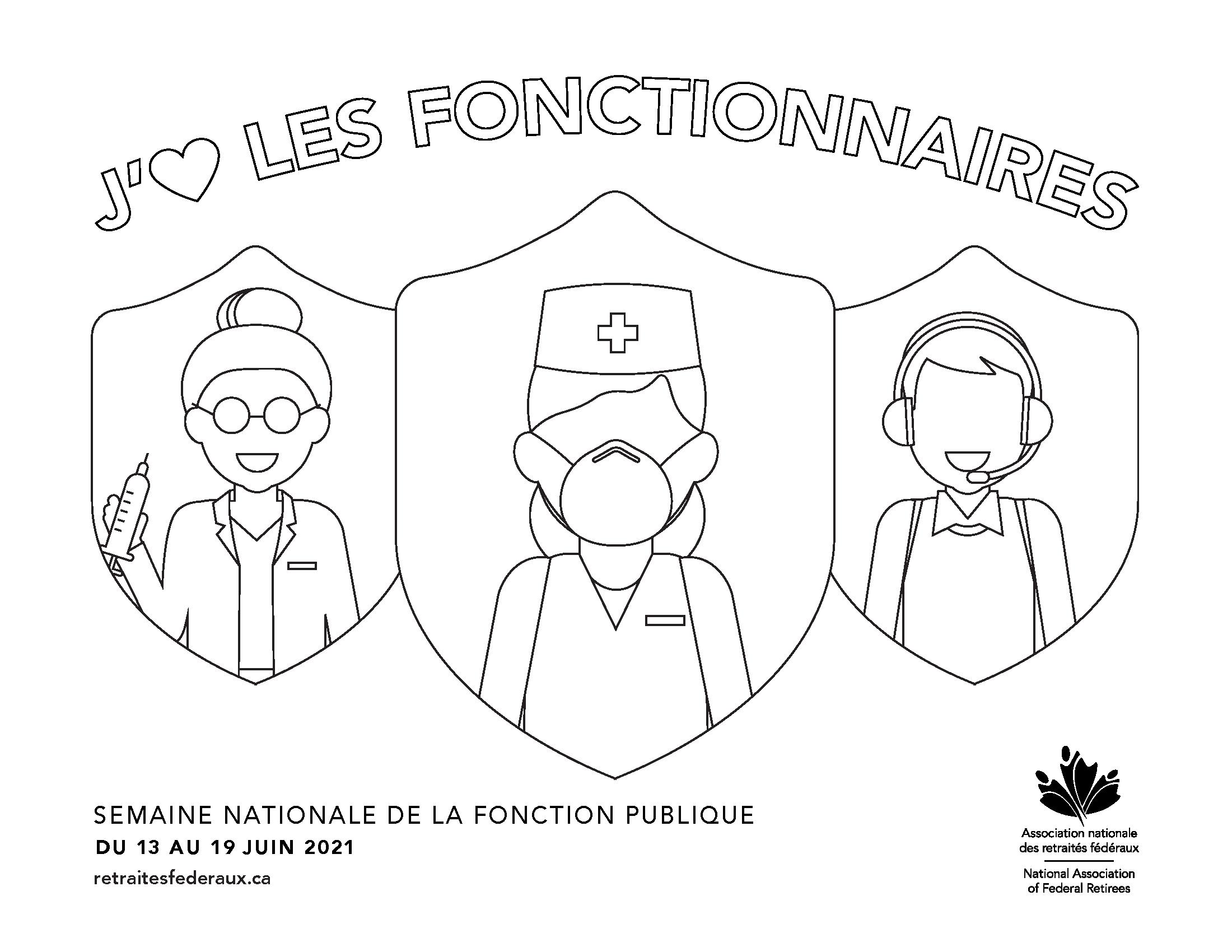 Retraités Fédéraux SNFP poster.
