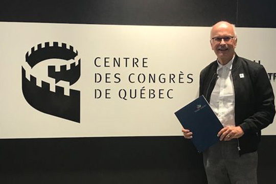 Serge Boisseau,2nd  VP of the Quebec Branch – représenting the six Quebec branches.