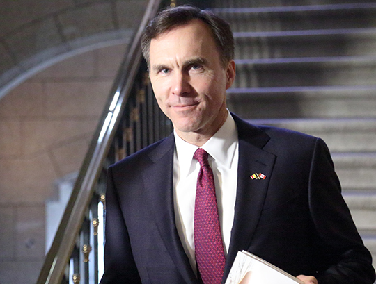 L'honorable Bill Morneau.