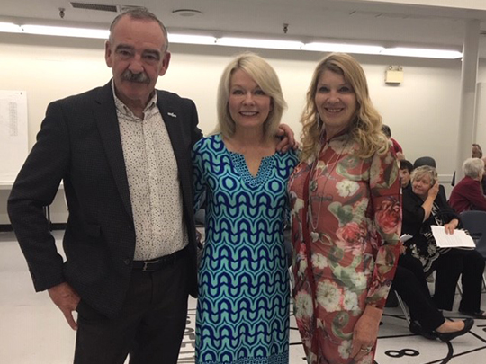 At the branch Annual General Meeting on April 24, 2019 — Irvine Ferris, Mayor of Portage la Prairie, The Honourable Candace Bergen, MP for Partage-Lisgar and <br>Leanne Coleman-Kamphuis, President of the Central Manitoba Branch. Hon. Bergen gave opening remarks and greetings on behalf of the Progressive <br> Conservative Party and noted that Federal Retirees is a non-partisan organization.
