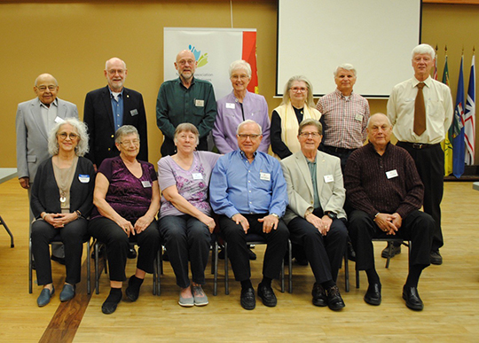 Edmonton Branch Board of Directors.