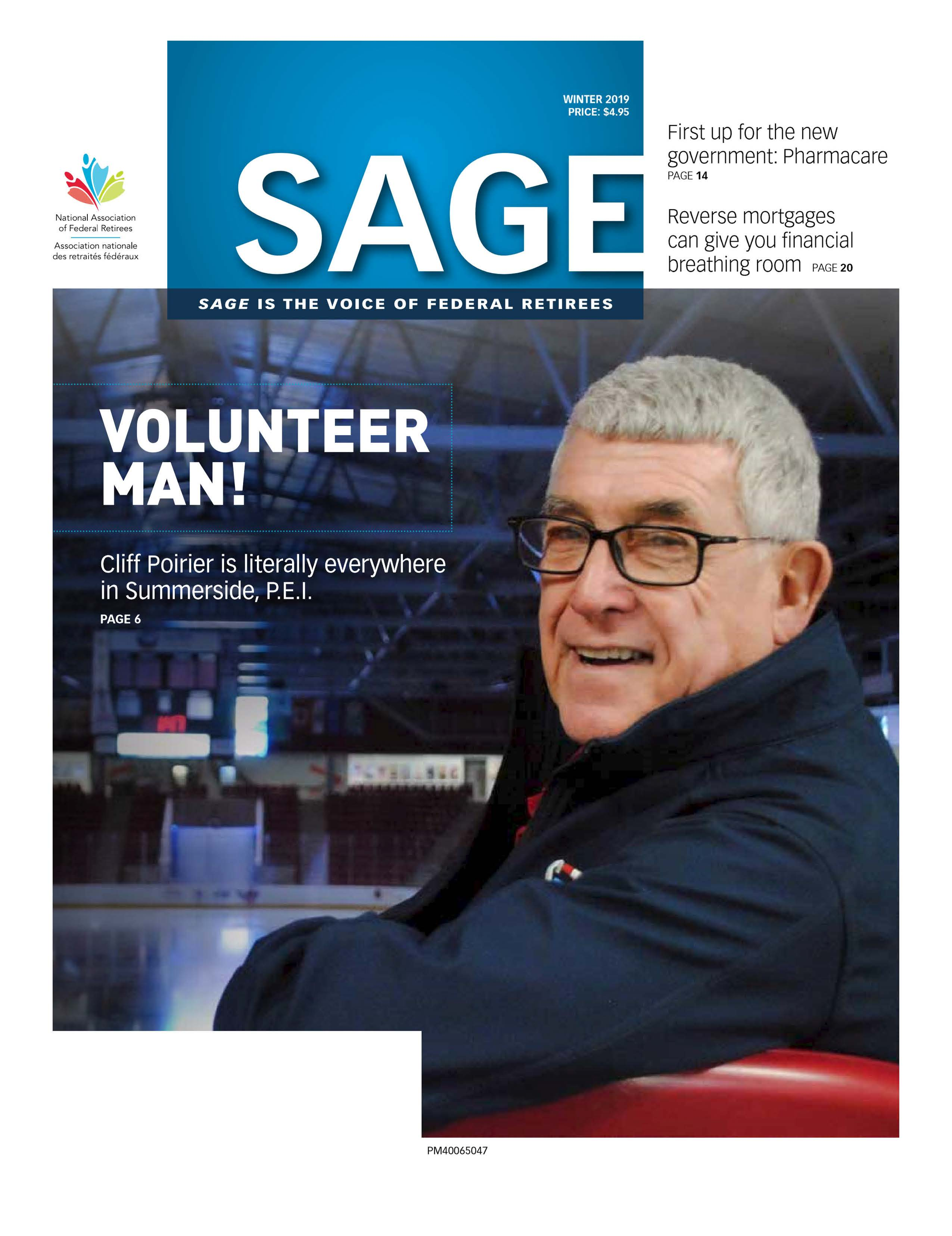 Sage Winter 2019 Cover