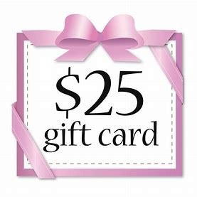 $25 gift card.
