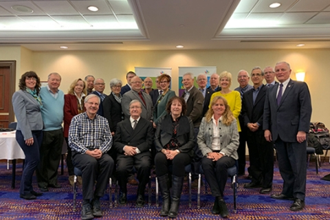 Representatives from nine organizations, representing more than 2 million seniors and their families, are meeting with Members of Parliament in Ottawa today to highlight key issues for their members – the need to implement a national seniors strategy, make retirement income more secure and prioritize pharmacare.