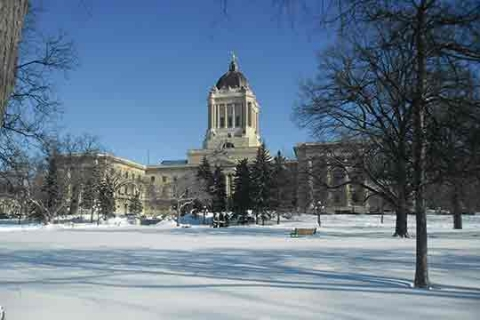 Manitoba Legislative Building.