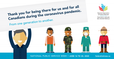 National Public Service Week image for Facebook.