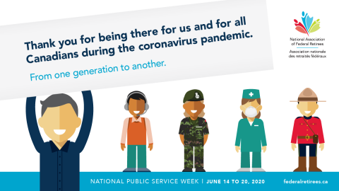 National Public Service Week image for Twitter.