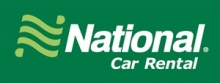 Le logo : National Car Rental.